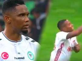 Eto'o y Robinho ya saben lo que es marcar con sus nuevos equipos. BeSoccer/beINSports
