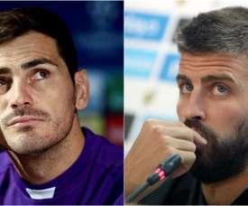 Piqué a fait référence au 2-6 sur Twitter et Casillas lui répond ! BeSoccer