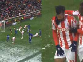 Choupo-Moting paid the price for equalising. BeSoccer