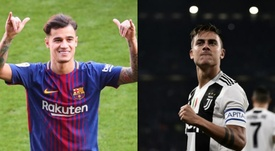 Dybala ou Coutinho pour remplacer Neymar ? EFE/AFP