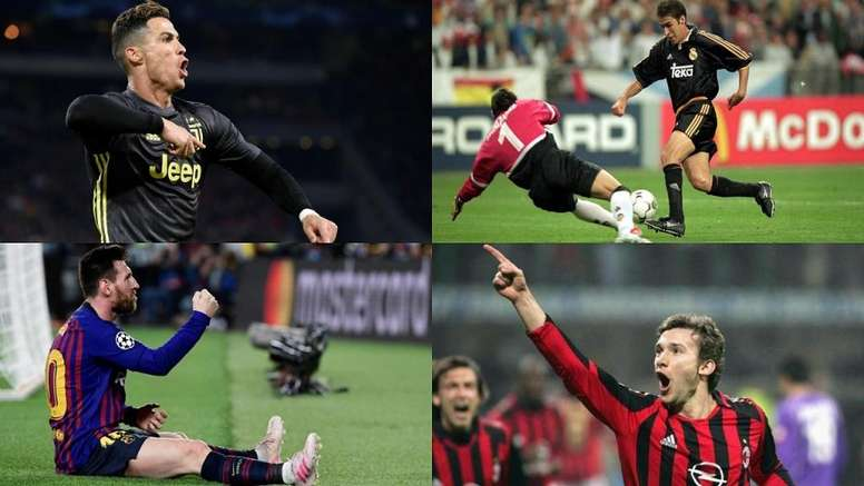 Cristiano, Raúl, Shevchenko y Messi, entre los máximos realizadores de la Champions. BeSoccer