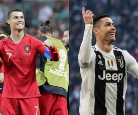 Les objectifs de Cristiano en 2019. BeSoccer