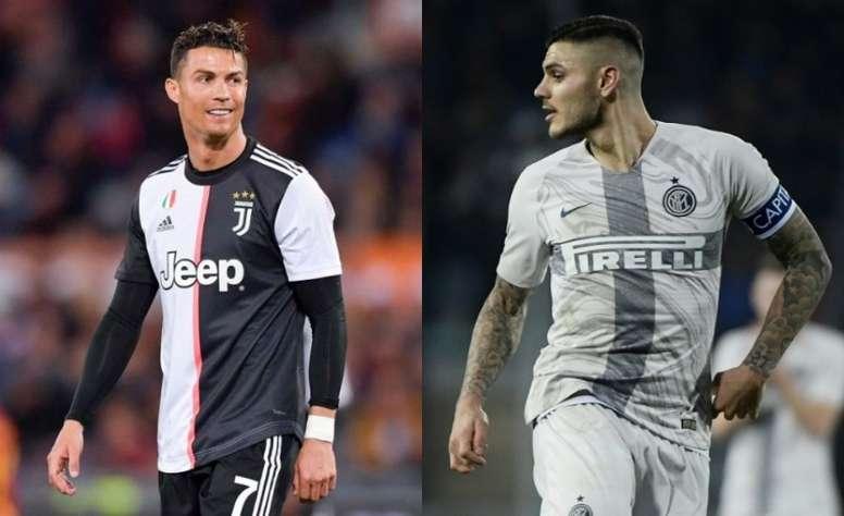 Sarri wants Icardi at Juventus. Juventus/AFP