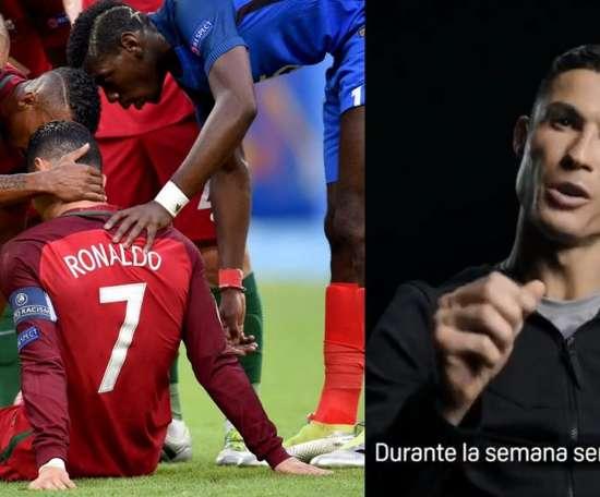 Ronaldo reveals one of the biggest secrets of his career