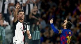 Cristiano y Messi, la batalla del gol. AFP/EFE