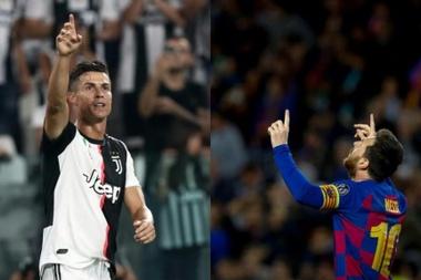 Cristiano Ronaldo e Leo Messi são alvo de idolatria inclusive dos adversários. AFP/EFE