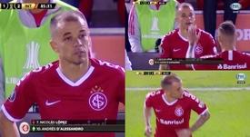 D'Alessandro é homenageado por torcida do River Plate após empate com o Inter
