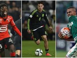 Dembélé, Hirving Lozano y Gabriel Jesus, tres jugadores que podría llegar a la Premier. BeSoccer