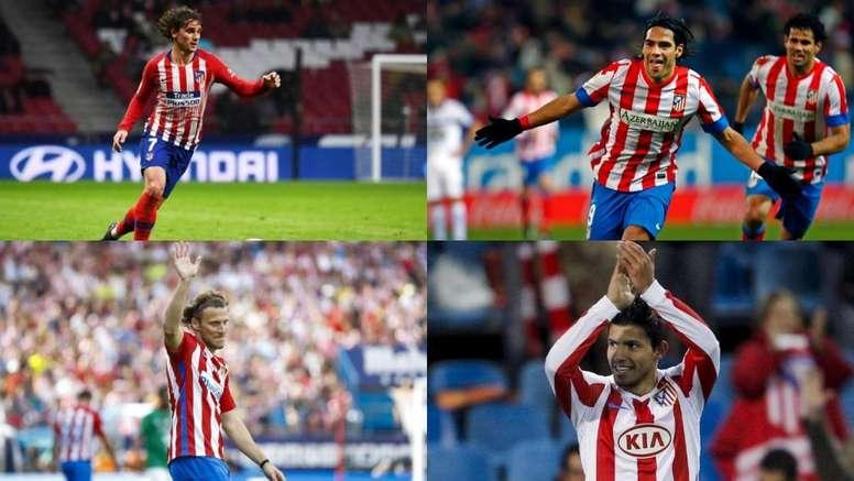 El Atleti espera acertar y encontrar un sustituto para relevar a Griezmann. AFP/Atlético