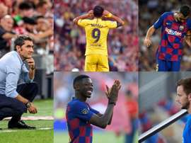 Valverde's changing loyalty. Collage/EFE/AFP