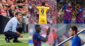Valverde's changing loyalty. Collage/EFE/AFP