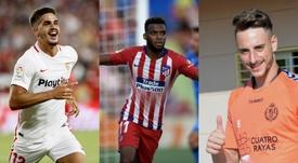 André Silva, Thomas Lemar et Fernando sont finalistes. AFP/EFE