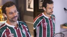Fred vuelve a Fluminense con 36 años. DanielPerpetuo/FFC