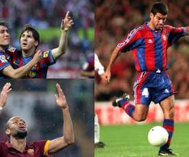 Bojan, Guardiola and Keita all pulled on both shirts. BeSoccer