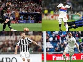 O brutal XI que o Lyon trocou por quase 280 milhões. EFE/AFP