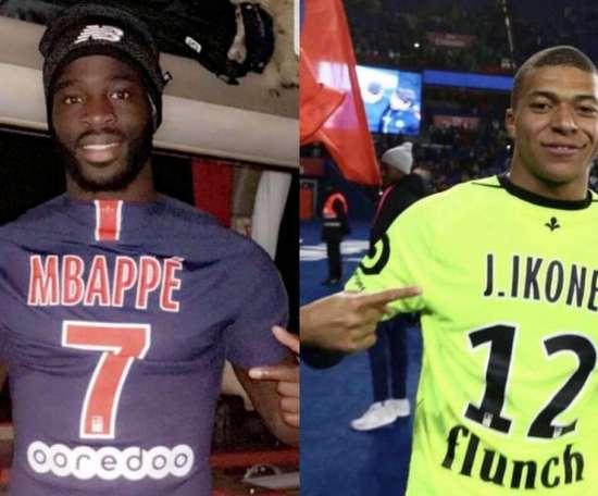 O obstáculo entre Mbappé e o título é um amigo de infância. Collage/ASBondyFoot