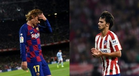 Atletico and Barcelona will meet this Thursday. Collage/BeSoccer
