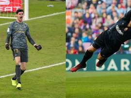 A battle of goalkeepers. EFE