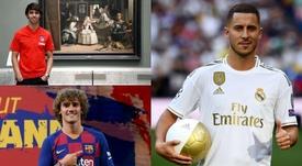 Hazard, Griezmann y Joao Félix son las nuevas ilusiones. Montaje/BeSoccer