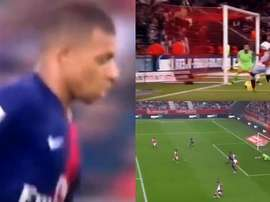 Mbappe had a go at Buffon after his two blunders. Captura/Vamos