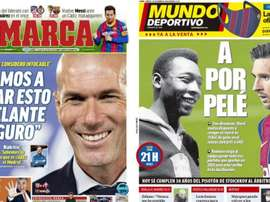 Portadas de la prensa deportiva del 05-12-20. MD/Marca