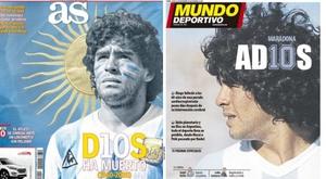 As capas da imprensa esportiva de 26 de novembro. MD/AS