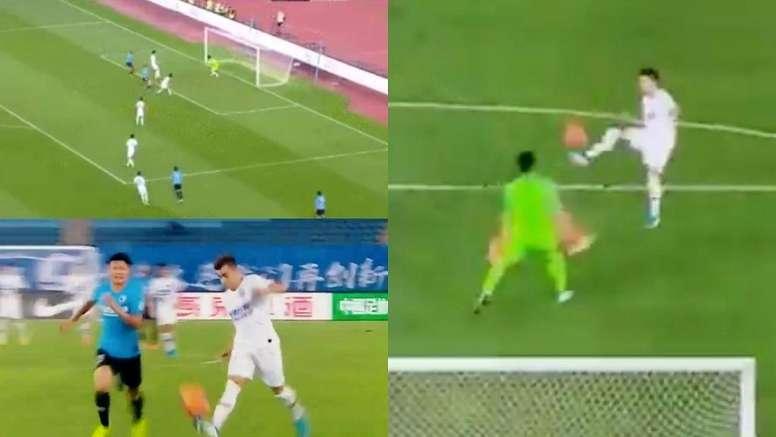 El Shaarawy respondió a Hamsik con dos golazos. Captura