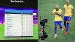 Richarlison no para: provocó a Argentina y a Messi