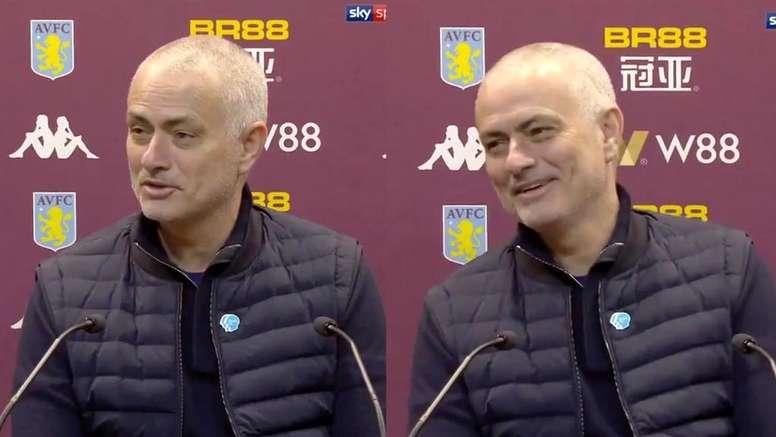 José Mourinho est revenu sur la sanction imposée à Manchester City. Capture/SkySports
