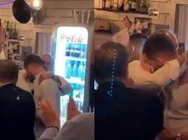 As lágrimas de Pjanic ao ser contratado pelo Barça. Captura
