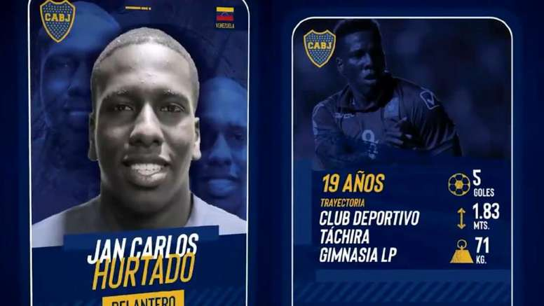 Jan Hurtado es de Boca. BocaJuniors
