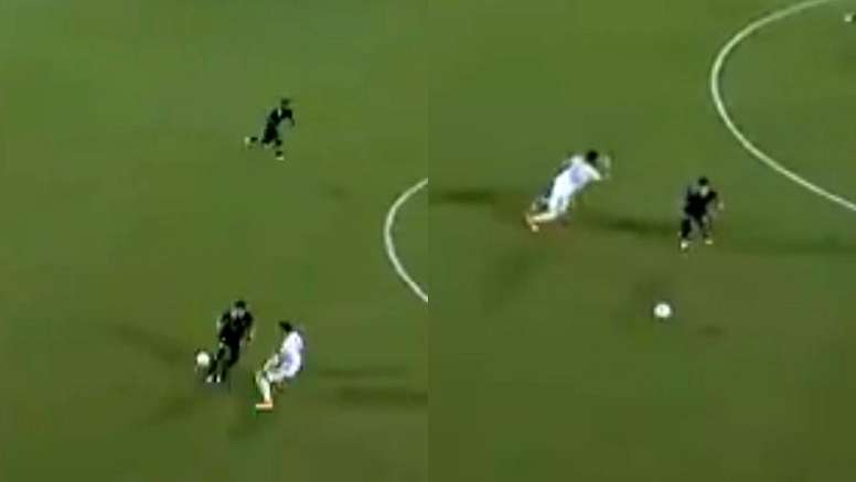 Alan Pulido imitó a Messi con un autopase en el gol de su equipo. Captura/MLS