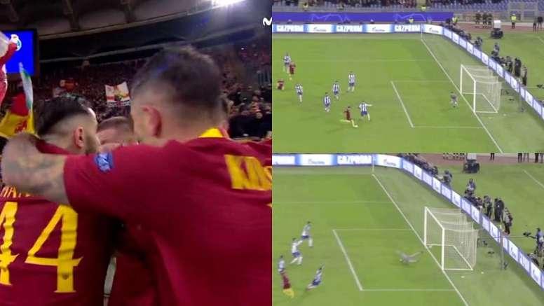 Zaniolo est l'homme du moment à Rome. Capture/BeInSports