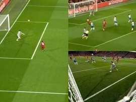 Keïta permet à Liverpool de prendre les devants. Capture/Movistar