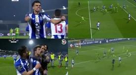 Pepe volvió a marcar y Óliver Torres firmó un golazo. Captura/LigaPortugal