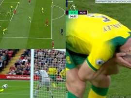 Le premier but en Premier League est... un CSC ! Capture
