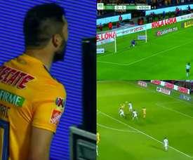 Hat-trick et golazo pour Gignac avec les Tigres. Capture