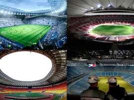 Esta temporada será de estrenos y reestrenos de estadios. BeSoccer/EFE/AFP