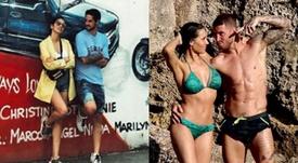 Isco, con su novia a la Gran Manzana y Ramos, en alta mar con su familia. Instagram