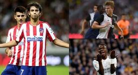 De Ligt, Vinicius and Joao Félix survive the latest Golden Boy screening. EFE/AFP