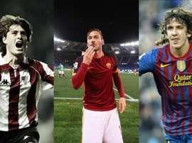 Julen Guerrero, Totti et Puyol ont passé leur carrière à défendre un même maillot. BeSoccer