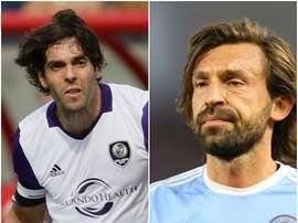Kaká y Pirlo están entre los mejores pagados de la MLS. BeSoccer