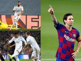 L'XI della Liga 19-20 secondo le statistiche. AFP/EFE