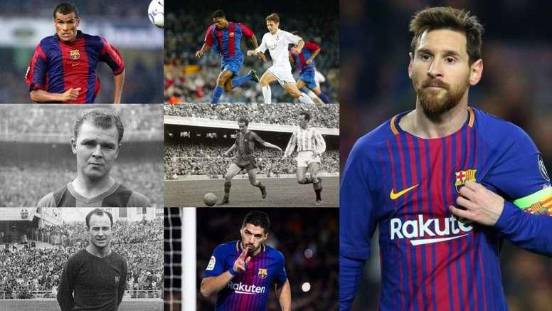 Máximos artilleros del FC Barcelona. BeSoccer/FCBarcelona