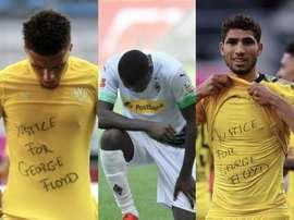 DFB pode acabar punindo os jogadores.  Collage/AFP
