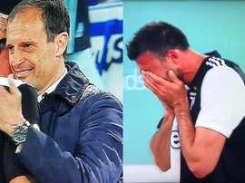 Barzagli fait ses adieux en larmes. Collage/SkySports