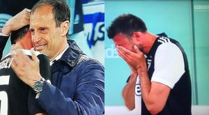 Barzagli said an emotional goodbye. Collage/SkySports