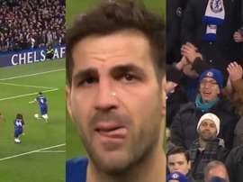 L'ultima partita di Fabregas. Captura/FACup