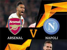 Arsenal-Napoli: encontro de gigantes nas quartas. UEFAEuropaLeague