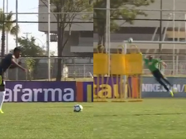 Le futur joueur du Real Madrid brille avec la mini-Canarinha. CBF_Futebol